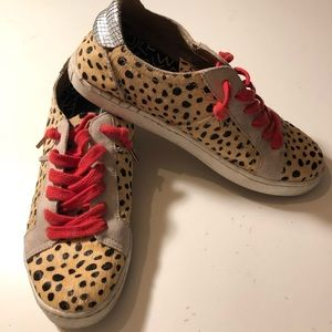 dc74cfe7f7bc Dolce Vita Shoes - Dolce Vita Zalen calf hair sneakers
